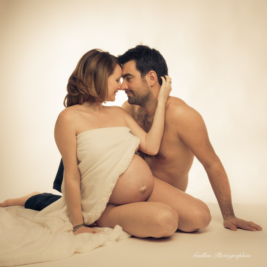 photo couple grossesse